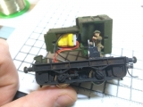 <p>It fits like a glove inside the nose of this excellently made little shunter. The customer reports that it runs much better.																																																																																																																																																																																																																													</p>
