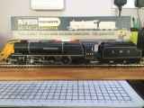 <p>Non-runner Wrenn OO gauge 'Duchess of Hamilton' in for repairs.																																																																																																																																																																																																																													</p>
