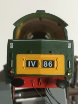 <p>Western lights fitted to one of the cab ends.																																																																																																																																																																																																																													</p>