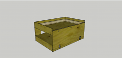 <p>The second baseboard crate. This layout once complete will be shown at exhibitions</p>