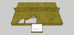 <p>Baseboard design for my N gauge layout Winkleigh T&RSMD</p>
