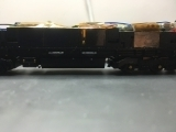 <p>Side view of a class 66 chassis showing the height of my prototype resistor bank																																																																				</p>
