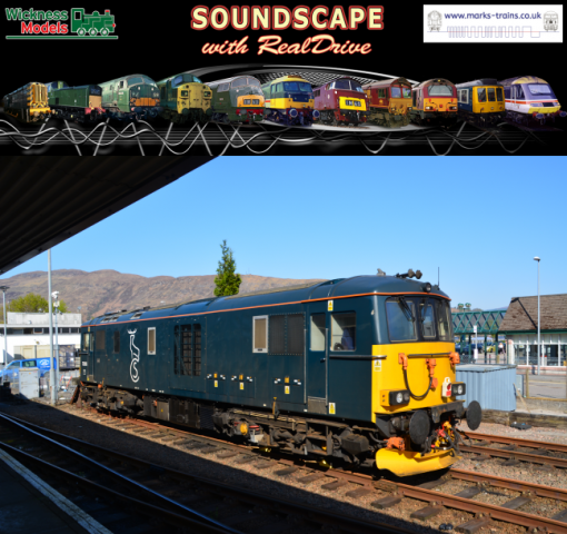 Class 73 Soundscape with RealDrive