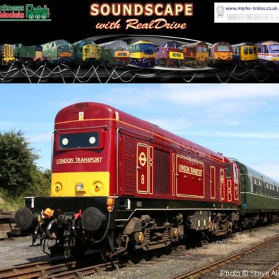 BR Class 20 Soundscape with RealDrive