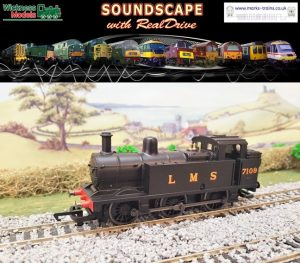 LMS Fowler 3F Jinty Soundscape with RealDrive