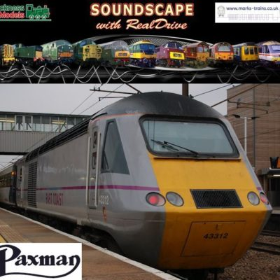 Class 43 Paxman Soundscape with RealDrive