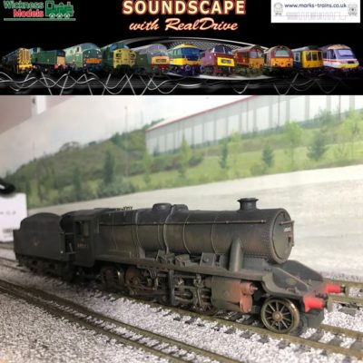 Stanier 8F Soundscape with RealDrive