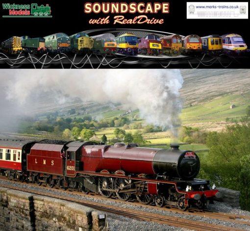 LMS Princess Coronation Soundscape with RealDrive