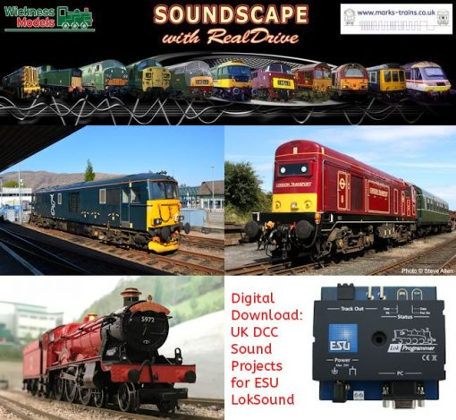 Digital Download: UK DCC Sound Projects for ESU LokSound v4