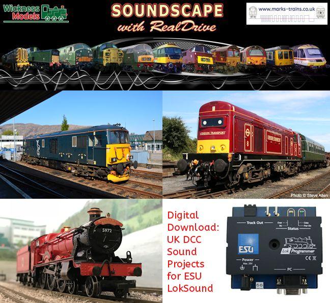 Digital Download: UK DCC Sound Projects for ESU LokSound v4