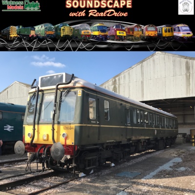 Class 121-122 Soundscape with RealDrive