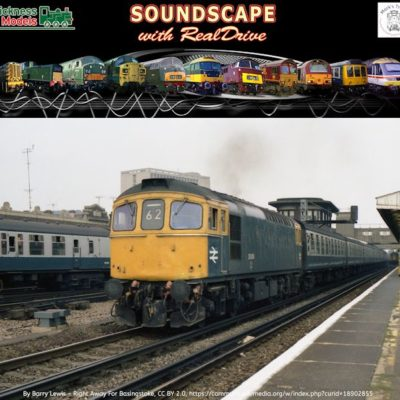 Class 33 Soundscape with RealDrive