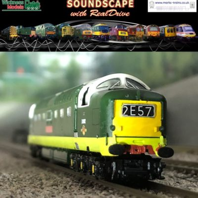 Class 55 'Deltic' Soundscape with RealDrive