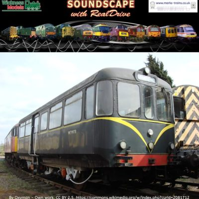 AC Cars Railbus Soundscape with RealDrive