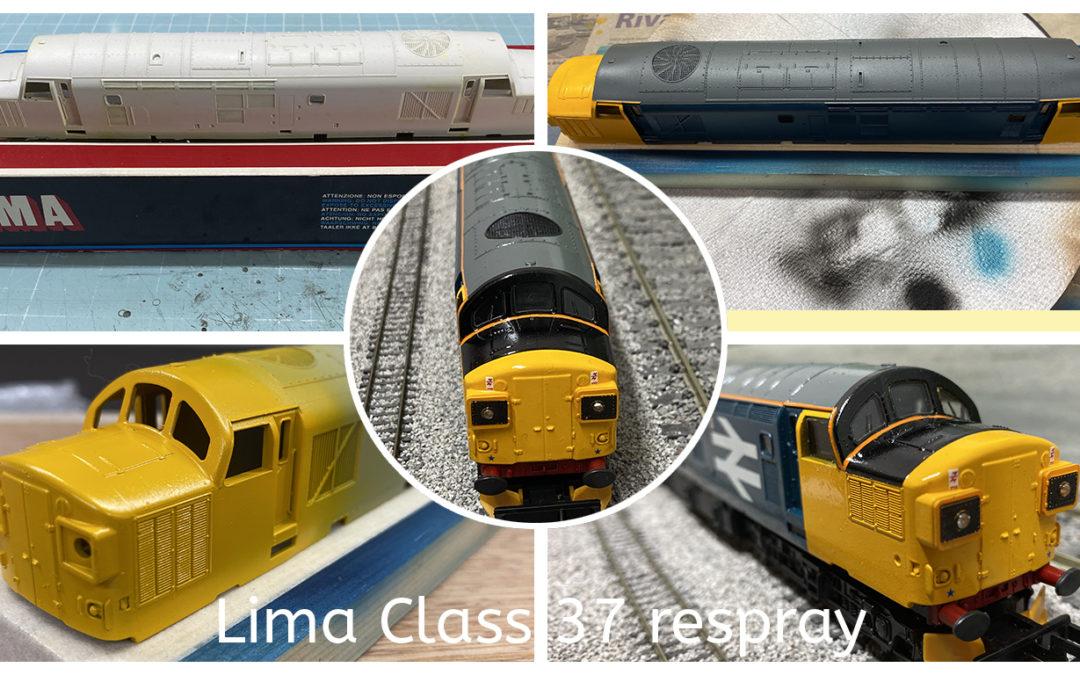 Class 37 respray