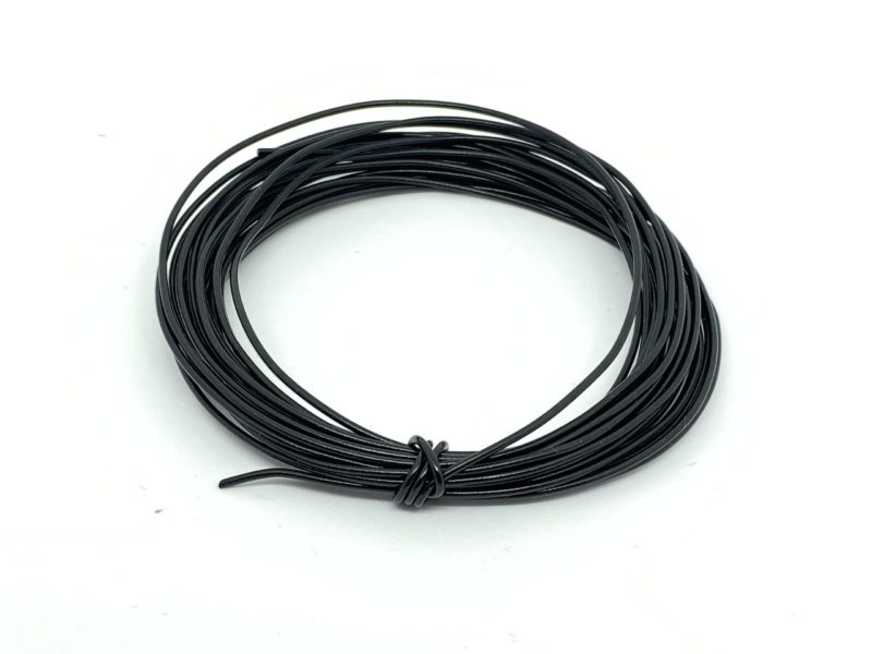 Wire 7/0.2mm Black