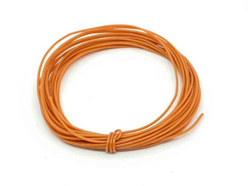 Wire 7/0.2mm Orange