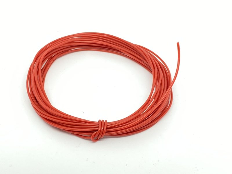 Wire 7/0.2mm Red