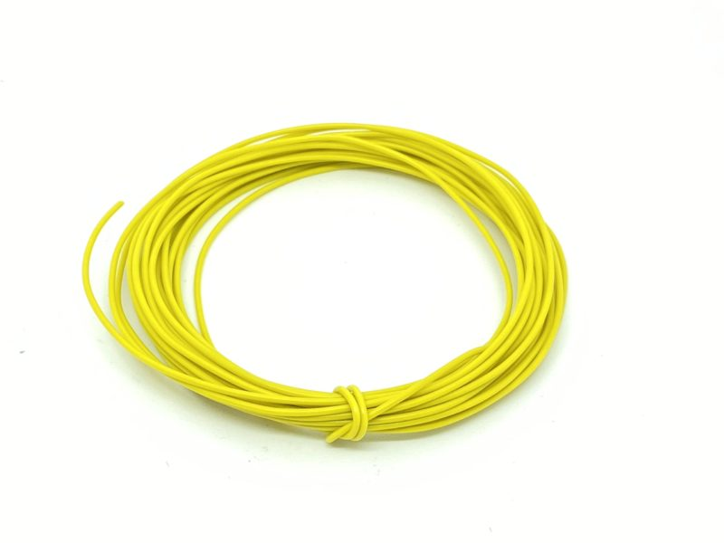 Wire 7/0.2mm Yellow