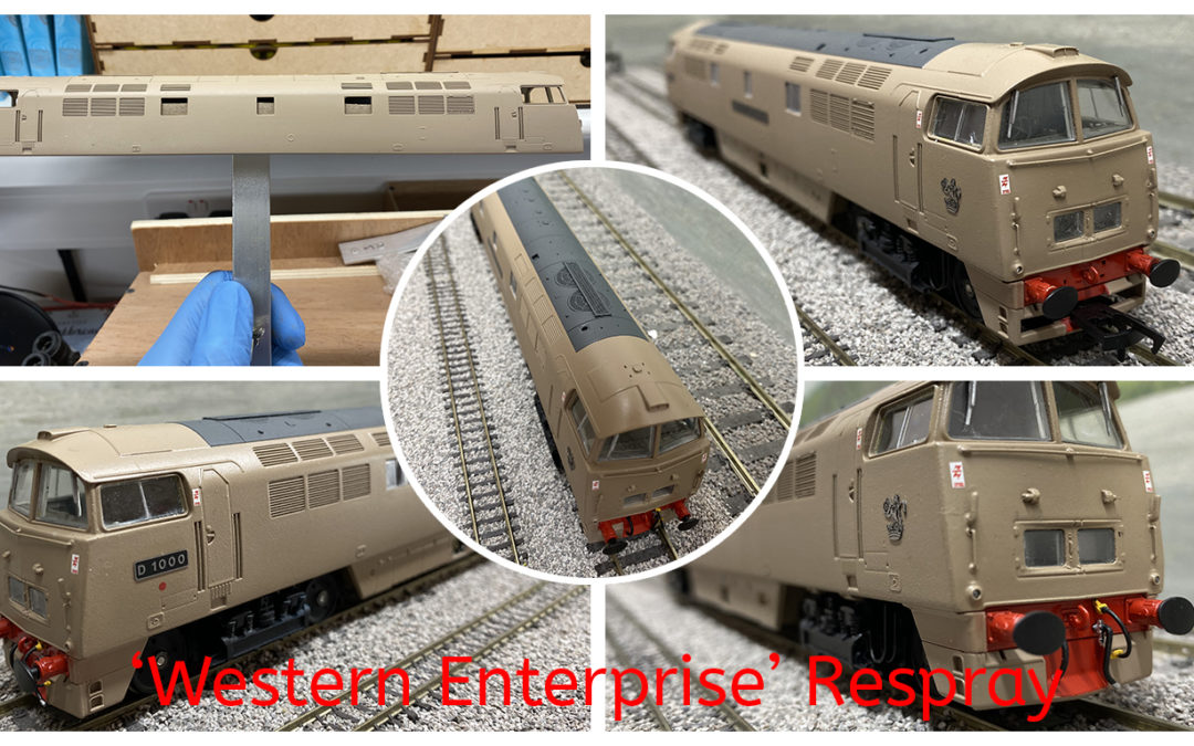 Dapol 'Western Enterprise' respray