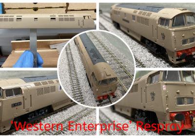 Dapol 'Western Enterprise' respray